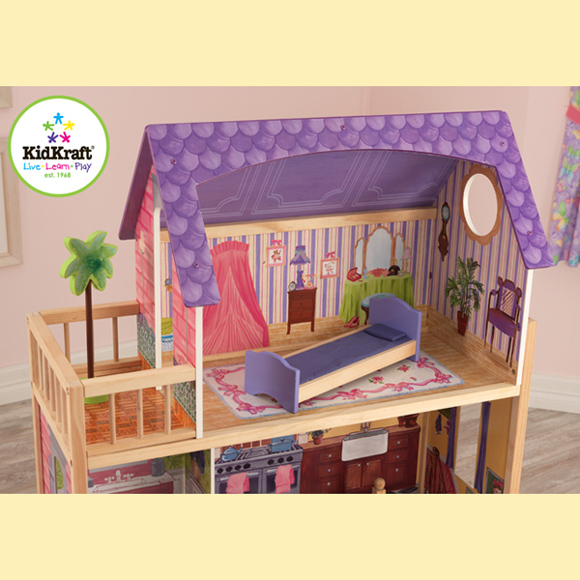kidkraft dollhouse assembly instructions